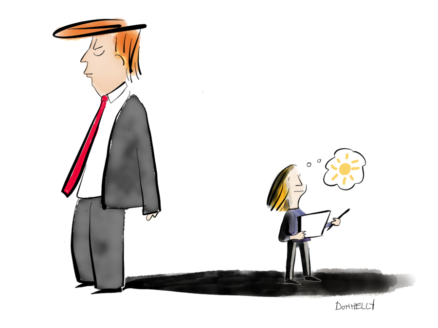 Trump And A New Reality Liza Donnelly New Yorker Cartoonist