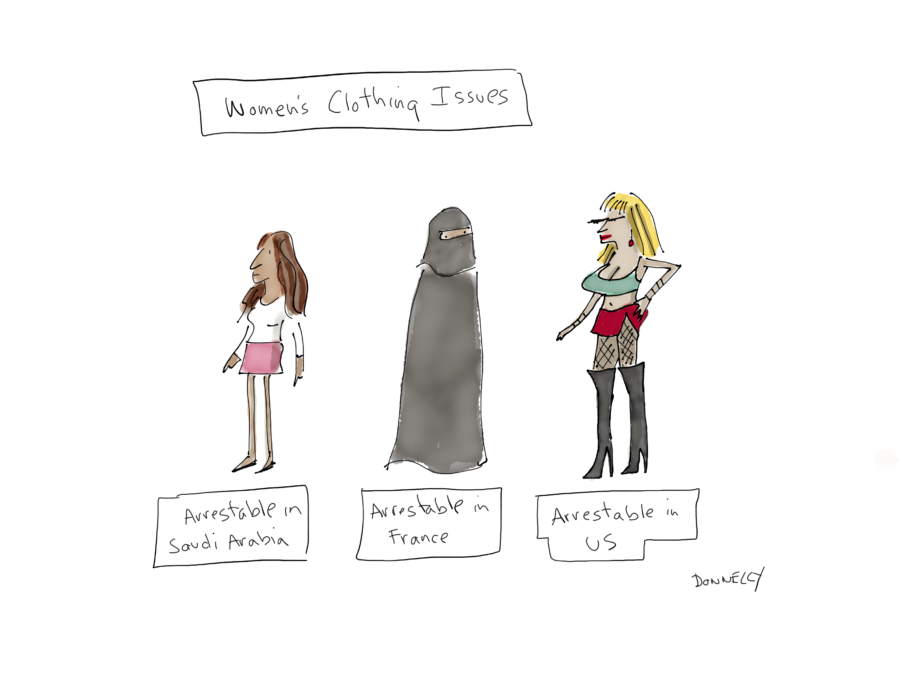 The Politics Of Women And Clothing Liza Donnelly New Yorker Cartoonist